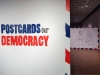 POSTCARDS FOR DEMOCRACY installation