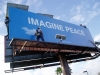 IMAGINE PEACE Billboard Installation