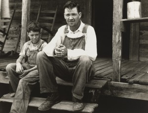 "Arthur Rothstein ""Farmer Who Will be Resettled, Wolf Creek Farms, Georgia"" 1935, Gelatin Silver Print"